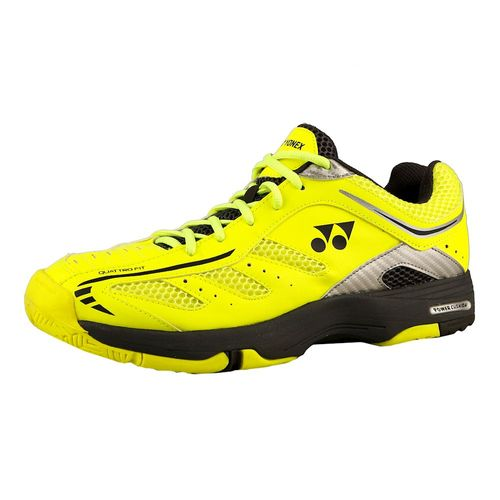 Yonex-Power-Cushion-Cefiro-Zapatilla-Todas-Las-Superficies-Hombres---Amarillo-Negro-WY72881
